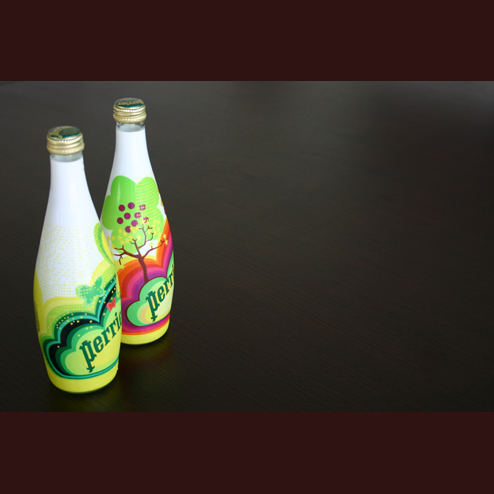 Limited Edition Perrier Bottles